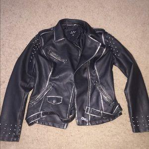 Buckle LA Coalition Pleather Studded Jacket